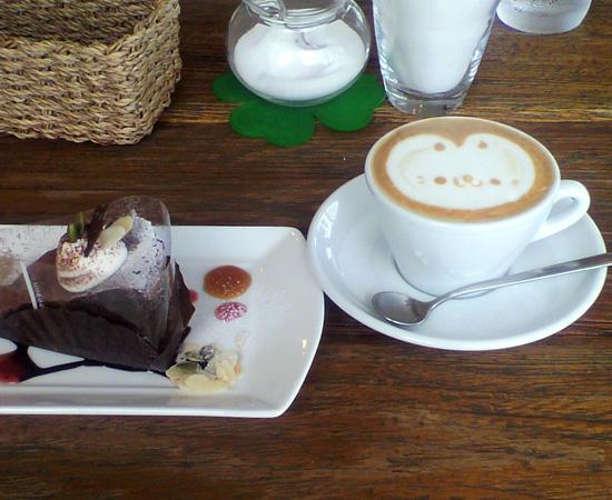 カプチーノ1&ケーキ