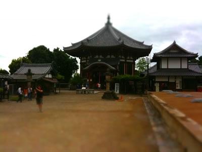 南円堂をミニチュアライズ