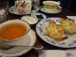スコーン&Teaセット