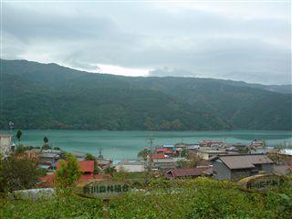 051029_井川湖です。雨です。