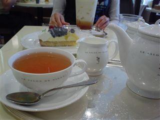 050618_LE SALON DE NINAS「季節のタルト&紅茶」