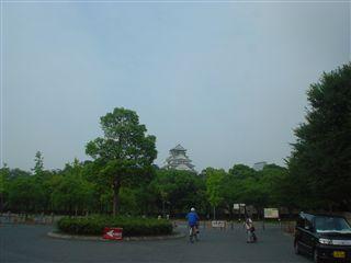 080802_大阪城公園内周遊コース。