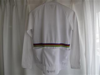 ローテイトストアのロンTシャツ(白)猫柄アルカンシエル。(裏)090614