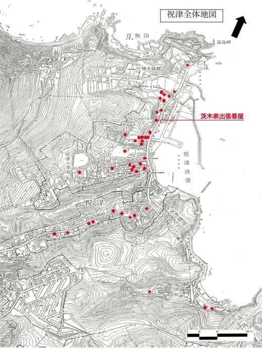 祝津漁場建築群マップS