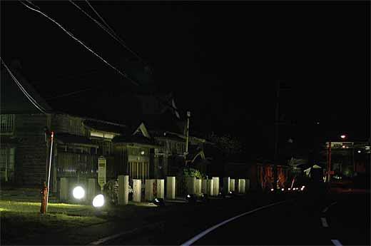 茨木家住宅ライトアップ01