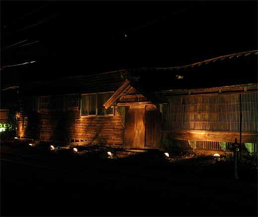 茨木家中出張番屋ライトアップ