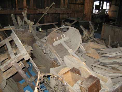 雪の茨木家中出張番屋収納品4
