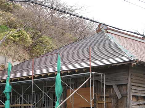 さっpろが我大屋根トタン葺き工事