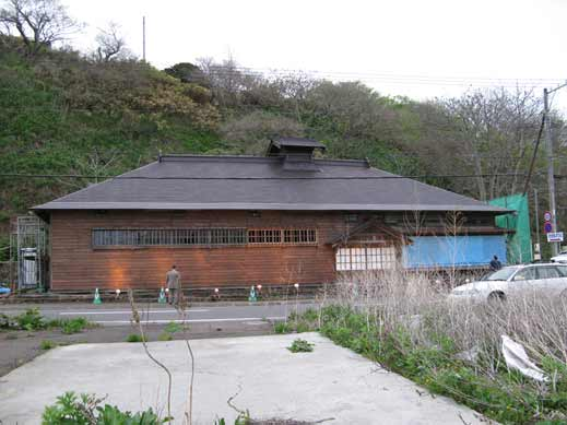 昨年5月の茨木家中出張番屋