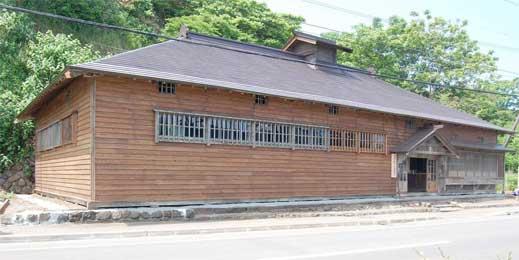 完成後の今年5月の茨木家中出張番屋