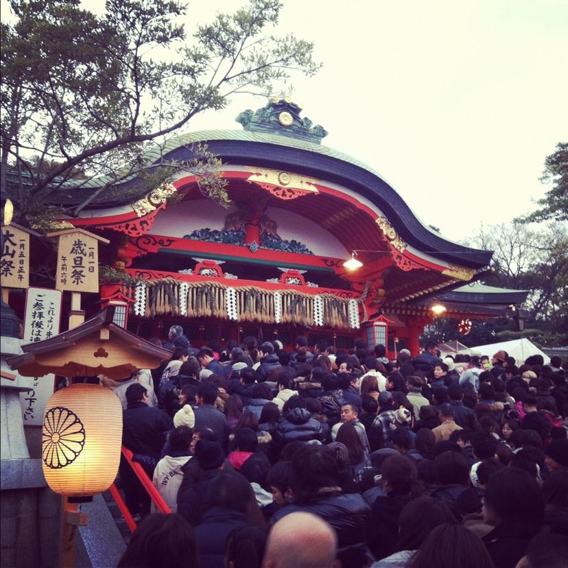 伏見稲荷大社初詣2012