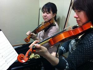 バイオリン 先生