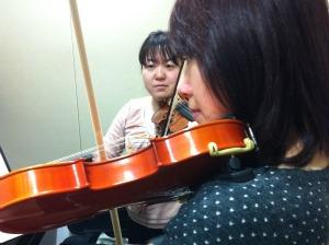バイオリン レッスン