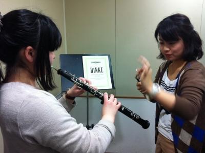 東京 オーボエ教室