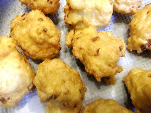 鶏と豆腐の団子