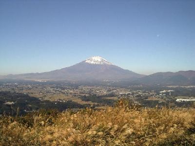 足柄峠からの富士山