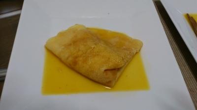 オレンジソースクレープ2