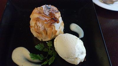安納芋と林檎のパイ