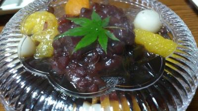 フルスクープ(黒糖あんみつ)