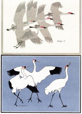 Card of Cranes