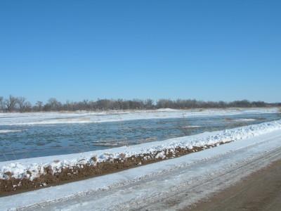 プラット川の流れ