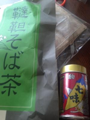 韃靼そば茶&善光寺七味