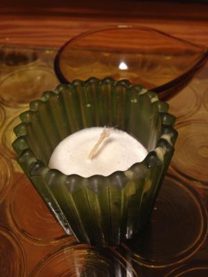 精製シアバターキャンドル オーガニック