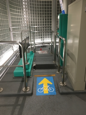 なんばCITY 自転車駐輪場
