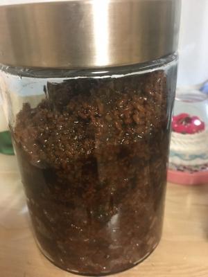 吉野杉樽天然醸造醤油使用の醤油麹