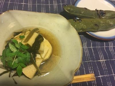筍とわかめの煮物