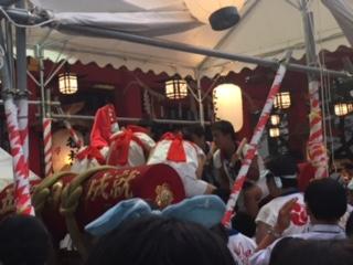 御霊神社の夏祭り2017