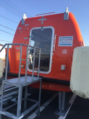 セブンイレブン救急艇