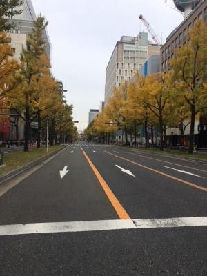 御堂筋 #大阪マラソン