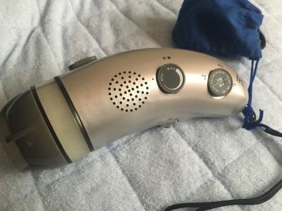 手回し充電多機能ラジオ