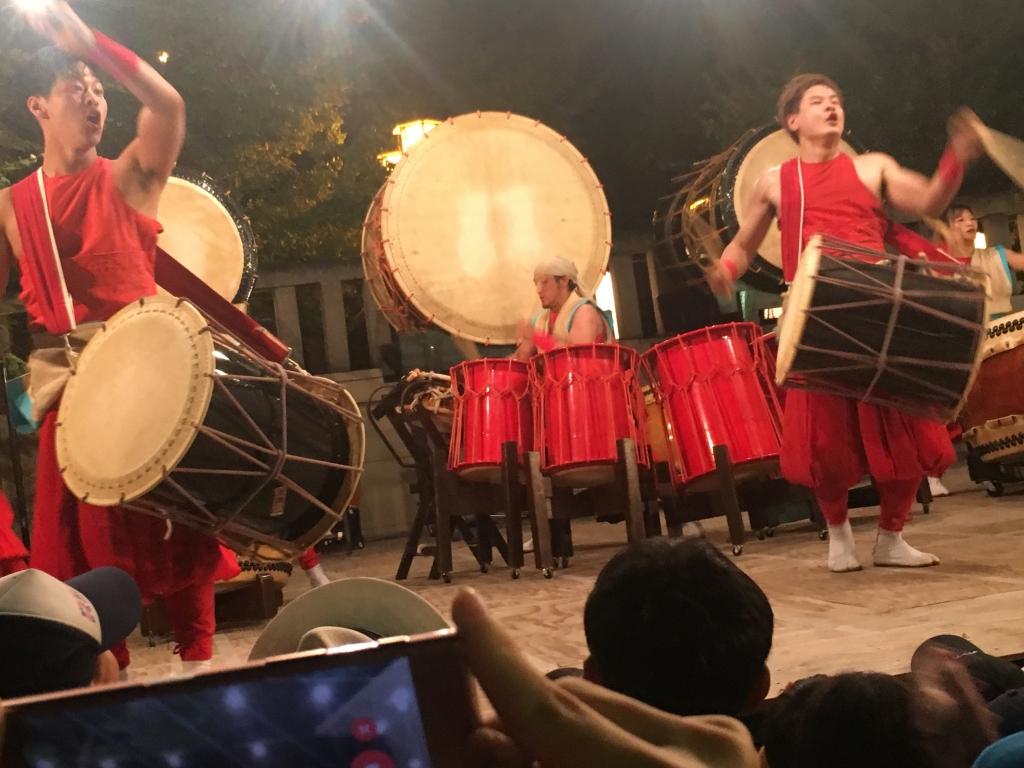 【倭太鼓 飛龍】難波神社 氷室祭2018