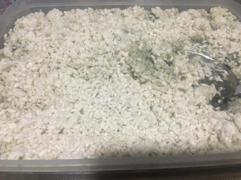 塩麹の仕込み