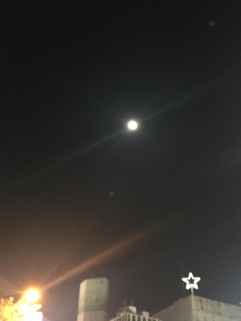 満月前夜(2018/10/24)