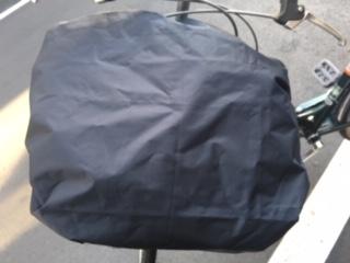 BIBICA 自転車カゴカバー(交換用トップ/ブラック)
