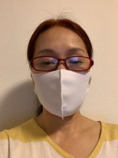 水着素材のマスクfrom東大阪