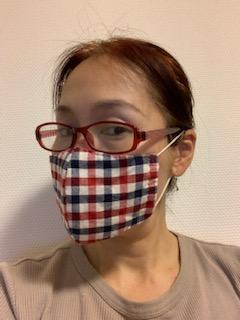 手作りマスク1号