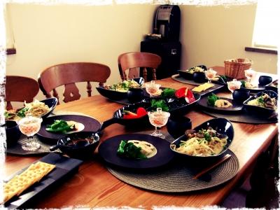 今月の料理教室