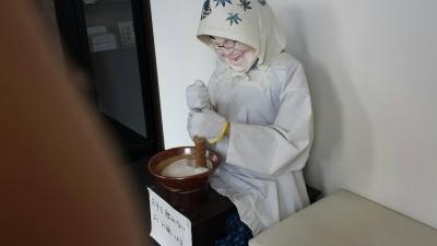 多気町の伊勢芋料理やさん。柑里。