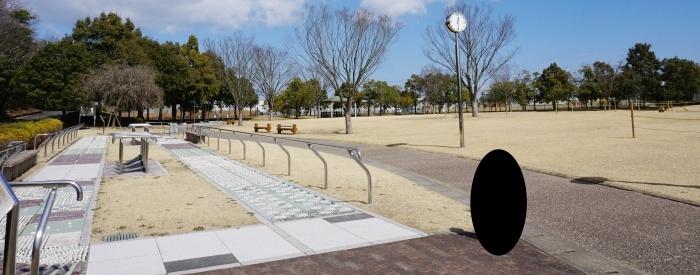 上川遊歩道公園 足つぼ