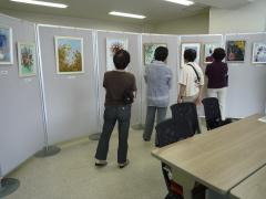 原色現代押し花アート展1