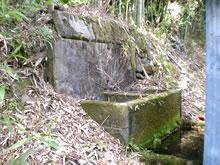 大根地区の横井戸