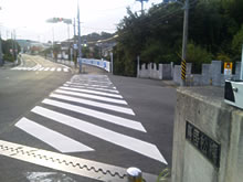 鳥居松橋西側