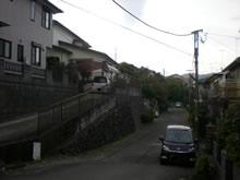 下谷戸の住宅地