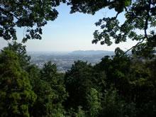 弘法山から