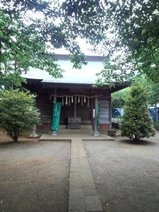 石座神社拝殿