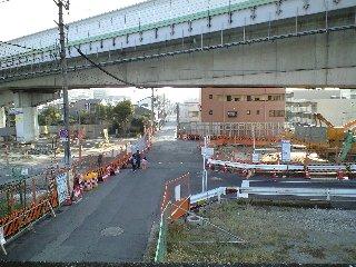 大和橋から綾野町方面を望む